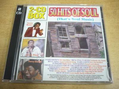 2 CD-SET: 50 Hits of Soul