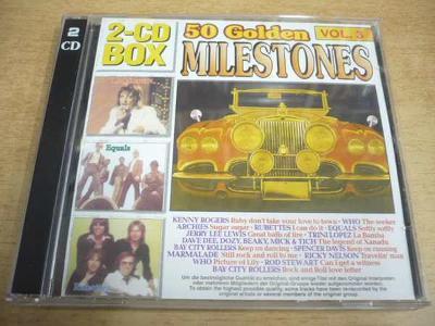 2 CD-SET: 50 Golden Milestones Vol.3