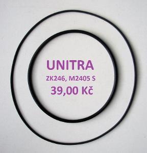 Sada řemínků pro magnetofon UNITRA ZK246, M2405 S