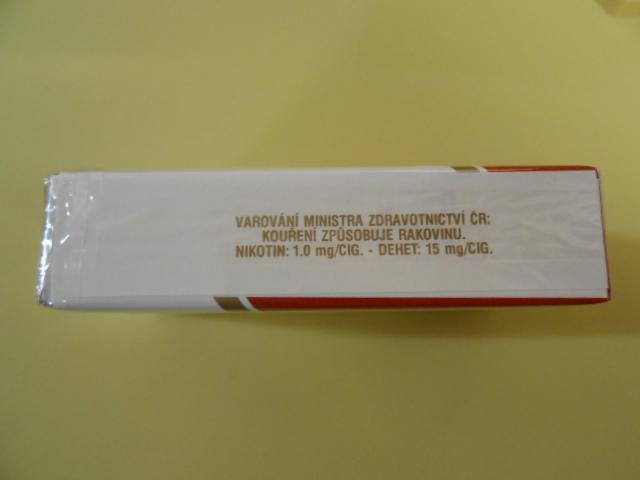 Sberatelská krabička cigaret Petra - Ostatní