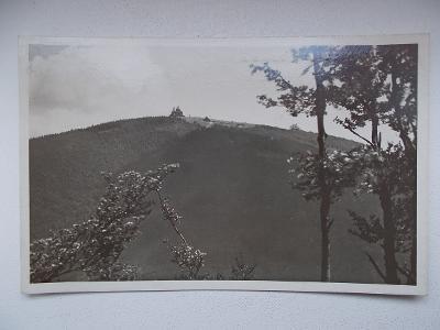 Vsetín Rožnov Pustevny Radhošť kaple Kyčera útulna Hitler Protektorát