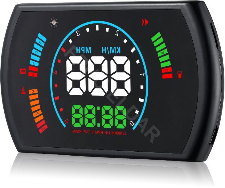 Head-Up S600 OBD2 HUD display - Náhradní díly a příslušenství pro osobní vozidla