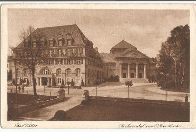BAD ELSTER - Sachsenhof und Kurtheater - Deutschland