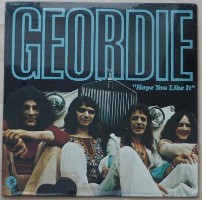 Rarita USA zapečetěné první album  Geordie 1973 DJ