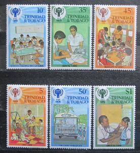 Trinidad a Tobago 1979 Mezinárodní rok dětí Mi# 385-90 0142