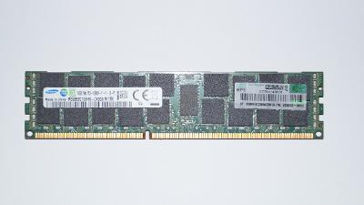 Operační pamět RAM 16GB DDR3 ECC 1600 Mhz SAMSUNG podpora korekce chyb