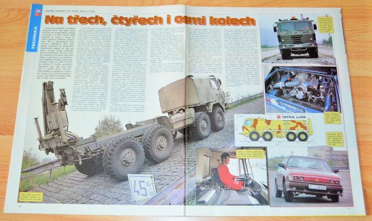 TATRA 815 8x8 VVN LIWA / TATRA 700 - ČASOPIS SVĚT MOTORŮ S ČLÁNKEM - Motoristická literatura