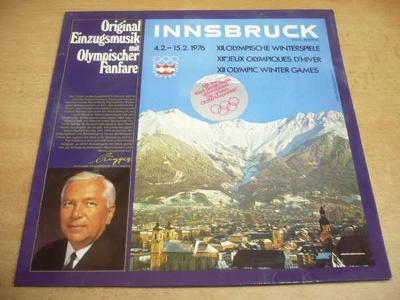 LP INNSBRUCK Olympic Games 1976 (Original Einzugmusik)
