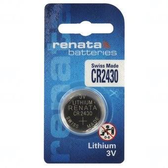 Baterie Renata CR2430, DL2430, BR2430, KL2430, LM2430, ECR2430, 5011LC