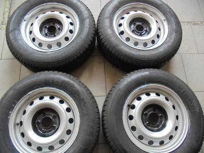 215 65r15 letní +15 plech  Citroen, Peugeot, 5x108mm, ET32 NOVÉ 4kusy