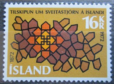 Island 1972 Samospráva Mi# 463 0207