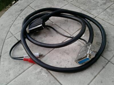 RGB AV kabel pro Amigu v kvalite /S - Q  /