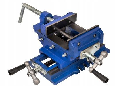 Křížový svěrák s čelistí 125mm Dilenský strojní