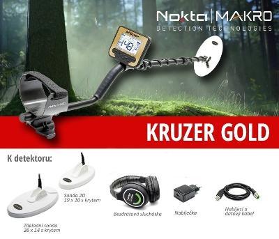 Detektor kovu Makro Gold Kruzer