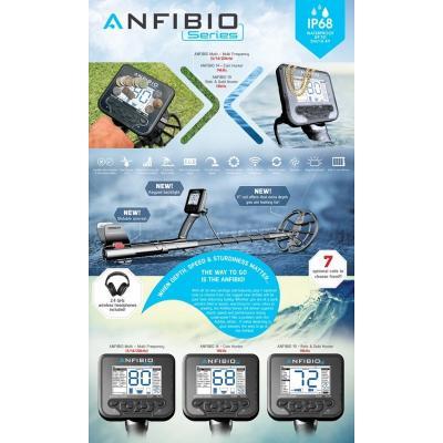 Detektor kovu Nokta Anfibio Multi