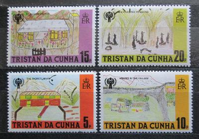Tristan da Cunha 1979 Dětské kresby Mi# 266-69 0545