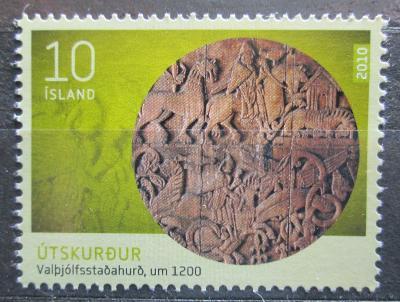 Island 2010 Umění Mi# 1263 0275