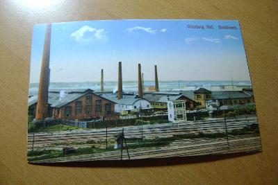 Bohumín-drátovna -nádraží-železnice- 1910