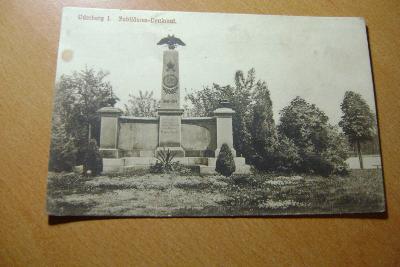 Bohumín-pomník-1.sv.válka - polní pošta- 1915