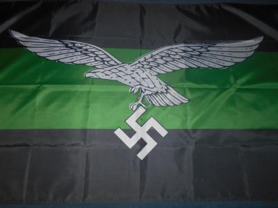 Repro Německá válečná vlajka  Luftwaffe německé válečné letectvo