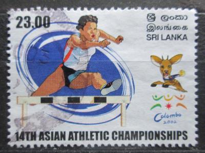 Srí Lanka 2002 Atletika, překážkový běh Mi# 1350 0286