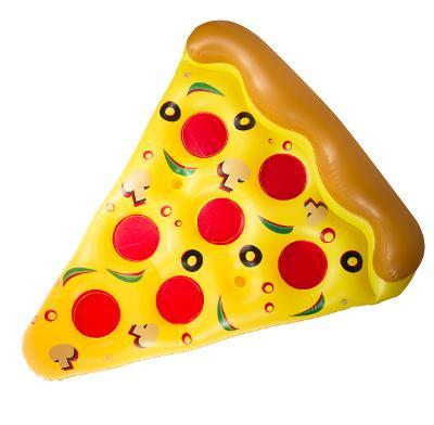 Nafukovací matrace plátek pizzu pizza 150x180cm GOT