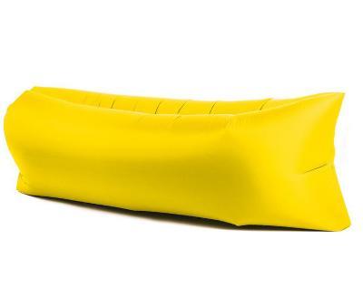 Lazy Bag SOFA nafukovací matrace Lezak na žluté GOT