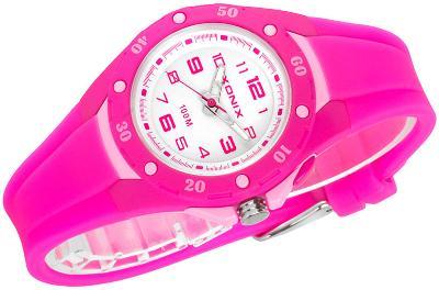 Analogové hodinky XONIX, podsvícení ciferníku, WR100m, antialergické