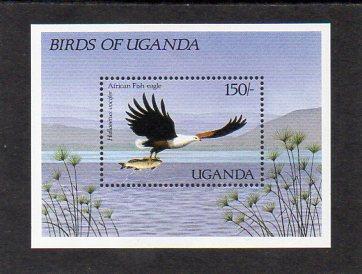 Uganda-Ptáci 1987**  Michel Bl.72 / 7,50 €