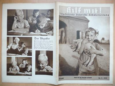 Starý německý časopis - Hilf mit ! - číslo 11. z roku 1939