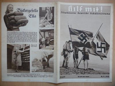 Starý německý časopis - Hilf mit ! - číslo 11. z roku 1940