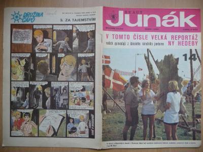 Časopis - Skaut-Junák - ročník XXXII. - číslo 14. - Říjen 1969
