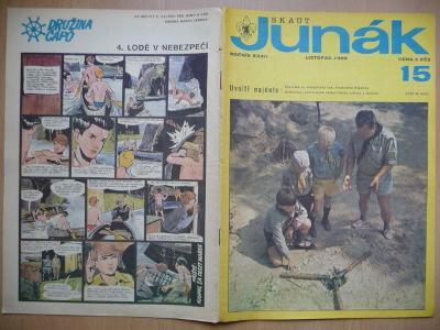 Časopis - Skaut-Junák - ročník XXXII. - číslo 15. - Listopad 1969