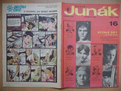 Časopis - Skaut-Junák - ročník XXXII. - číslo 16. - Listopad 1969