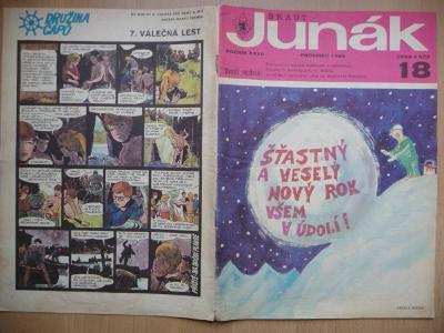 Časopis - Skaut-Junák - ročník XXXII. - číslo 18. - Prosinec 1969