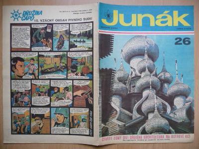 Časopis - Skaut-Junák - ročník XXXII. - číslo 26. - Duben 1970