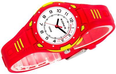 Malé analogové hodinky XONIX, podsvícení, WR100M, antialergické, dárek