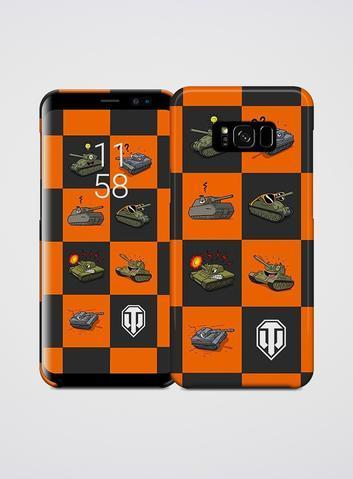 Samsung S7 Galaxy World of Tanks Metal Tankmoji Phone Skin