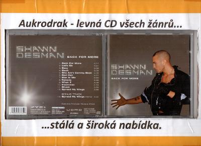 CD/Shawn Desman-Back For More