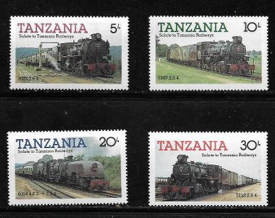 TANZÁNIE 268-271 Parní lokomotivy **