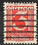 Rakousko - Mi.449 -  Nová měna - čislice