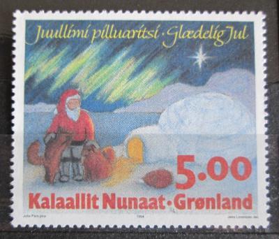 Grónsko 1994 Vánoce Mi# 254 0356