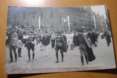 Praha Královské Vinohrady-Sokolský prúvod-Smichov-Foto: Posselt-1926