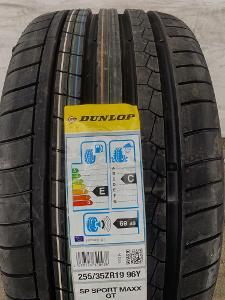 nová sada 255.35.19 Dunlop Sp Sport Maxx GT 96Y XL, AO za 11600kč