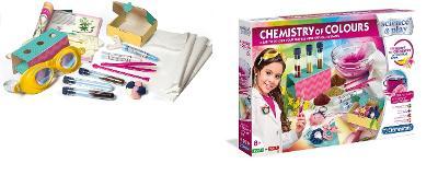 CLEMENTONI  chemistry of colours, barvení rostlinnými výtažky
