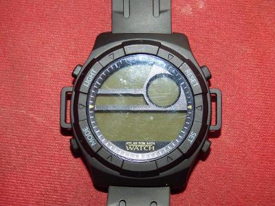 Atlas for men watch-veleobří provedení o průměru cca max. 5,5 cm, skvě