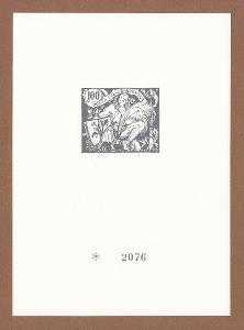 Pamětní list z katalogu Merkur Revue