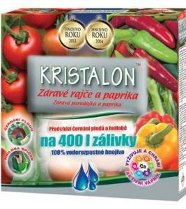 Hnojivo Kristalon - zdravé rajče a paprika