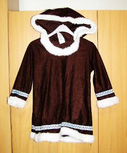 6168 ESKYMAČKA - karnevalový kostým pro děti vel.104