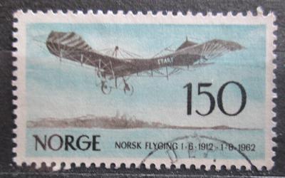 Norsko 1962 Norské letectví, 50. výročí Mi# 468 0472
